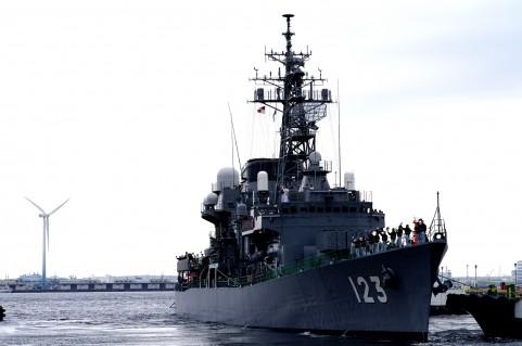 阪神基地隊で掃海艇一般公開があるよ