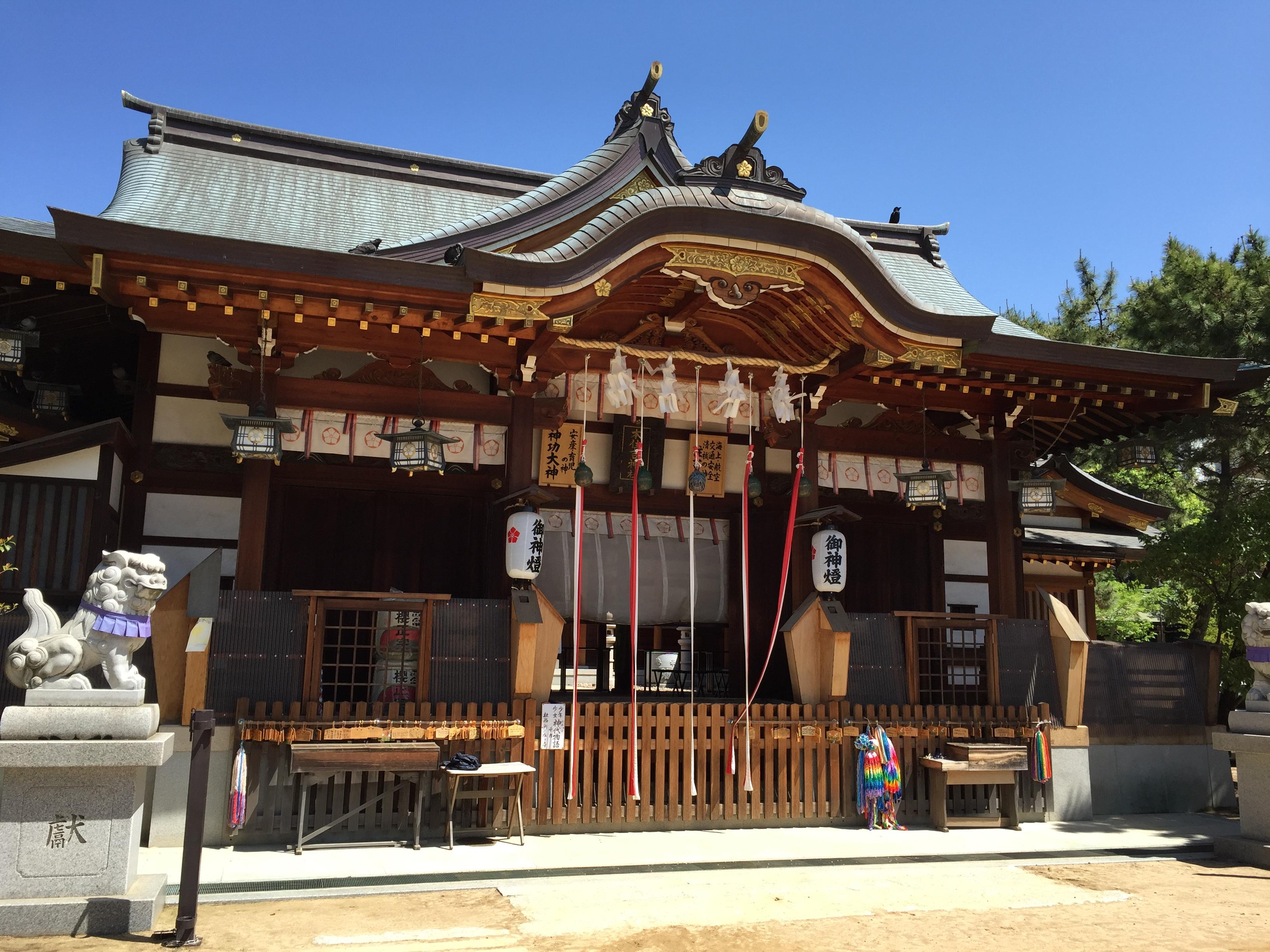 神戸・東灘の本住吉神社を参拝したよ ※写真レポあり