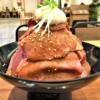 炭火焼肉食堂 レッドミート 神戸・御影クラッセ店で、話題のローストビーフ丼を食べて