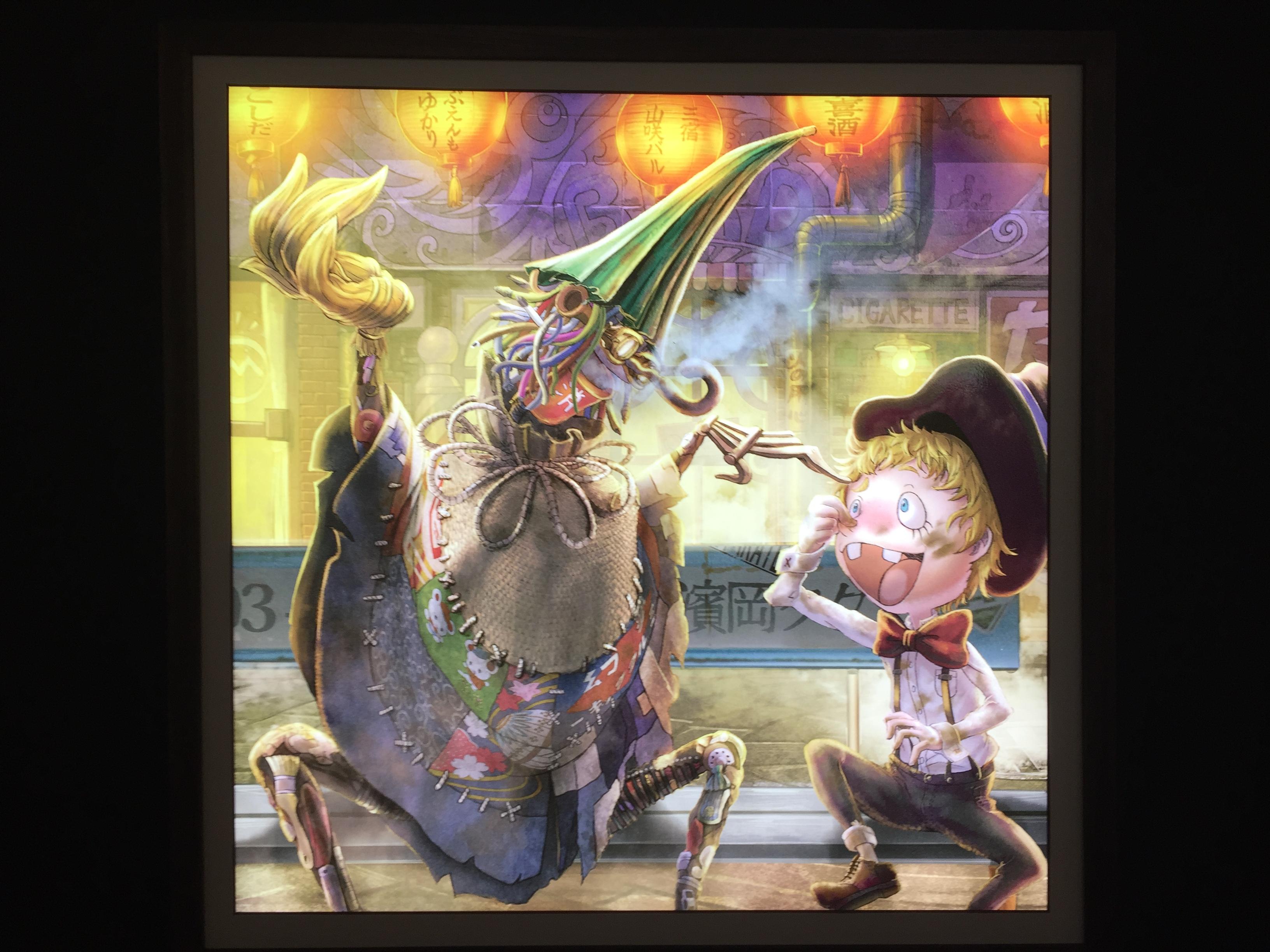 キングコング・西野亮廣 絵本原画展『えんとつ町のプペル展』が神戸別品博覧会で開催中!【※写真で作品一挙ご紹介】