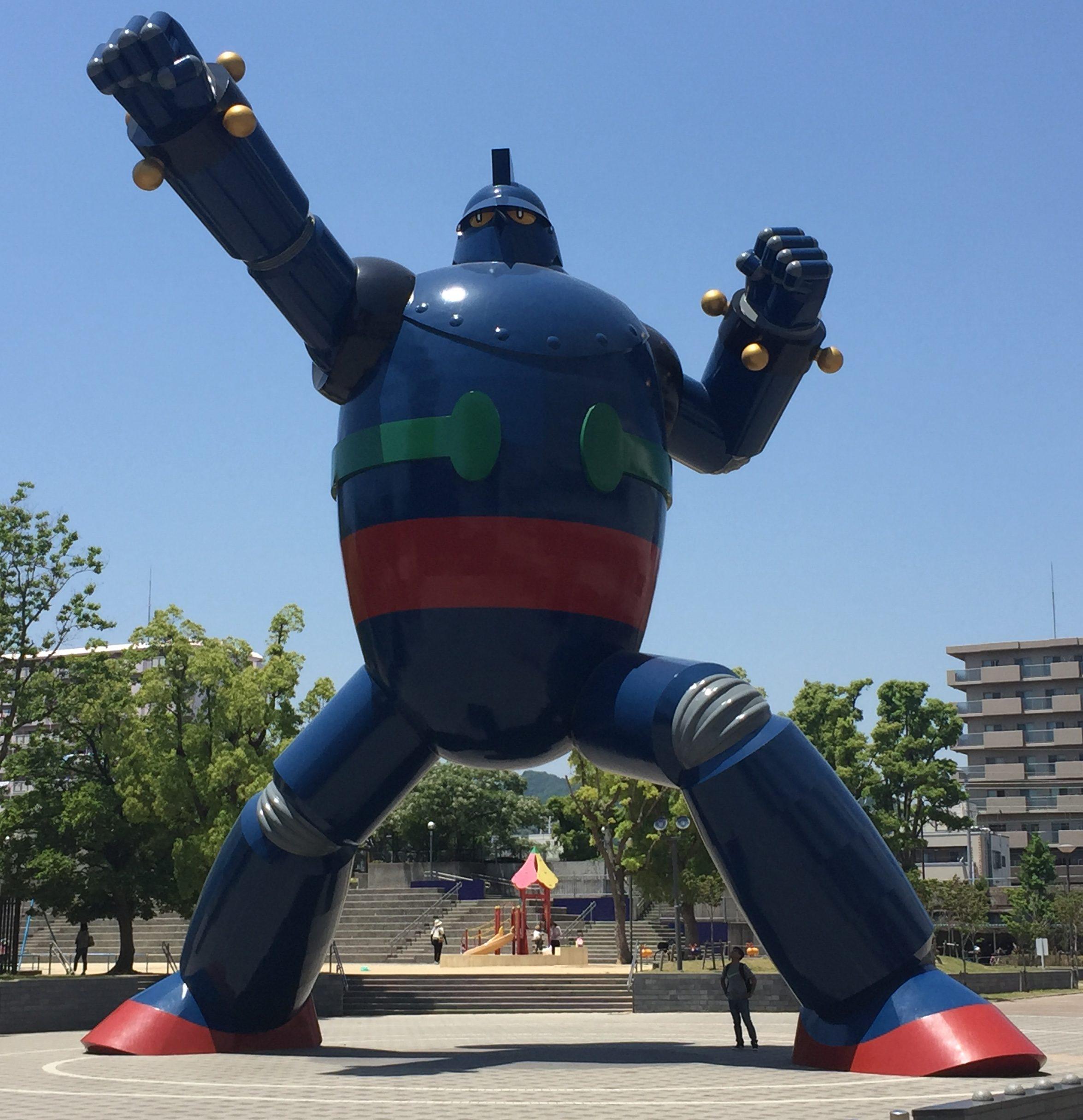 神戸・新長田の商店街散策と「ビッグハートちゃん」に会いに行ってきた!【新長田特集】