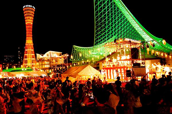 【※写真追加更新!】神戸・メリケンパークで関西最大級の盆踊り大会「こうべ海の盆踊り2017」が8/19(土)開催! #こうべ海の盆踊り