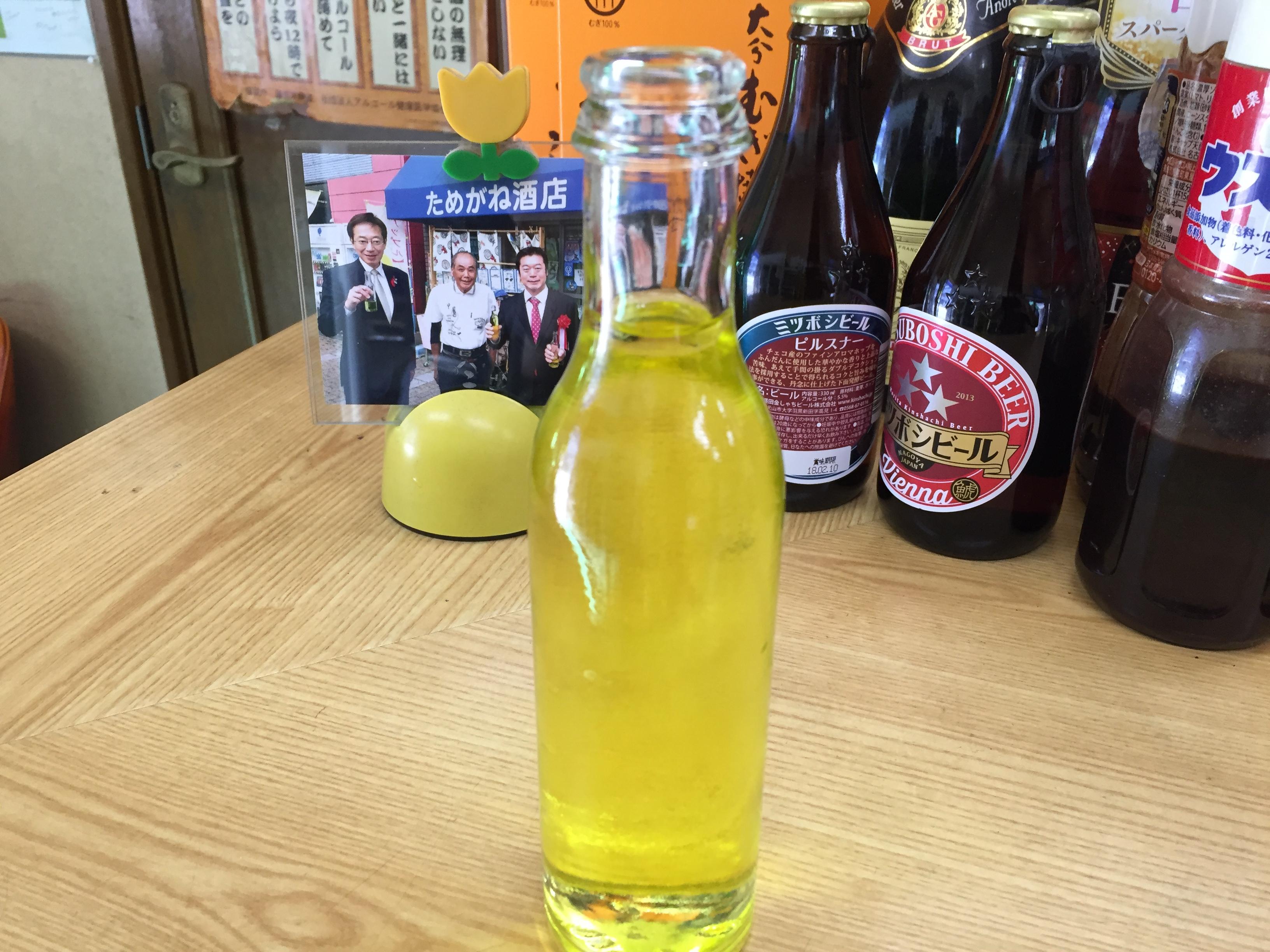 神戸のソウル飲料「アップル」を新長田・ためがね酒店で味わってみた! #アップル #新長田 #ためがね酒店 #兵庫鉱泉所