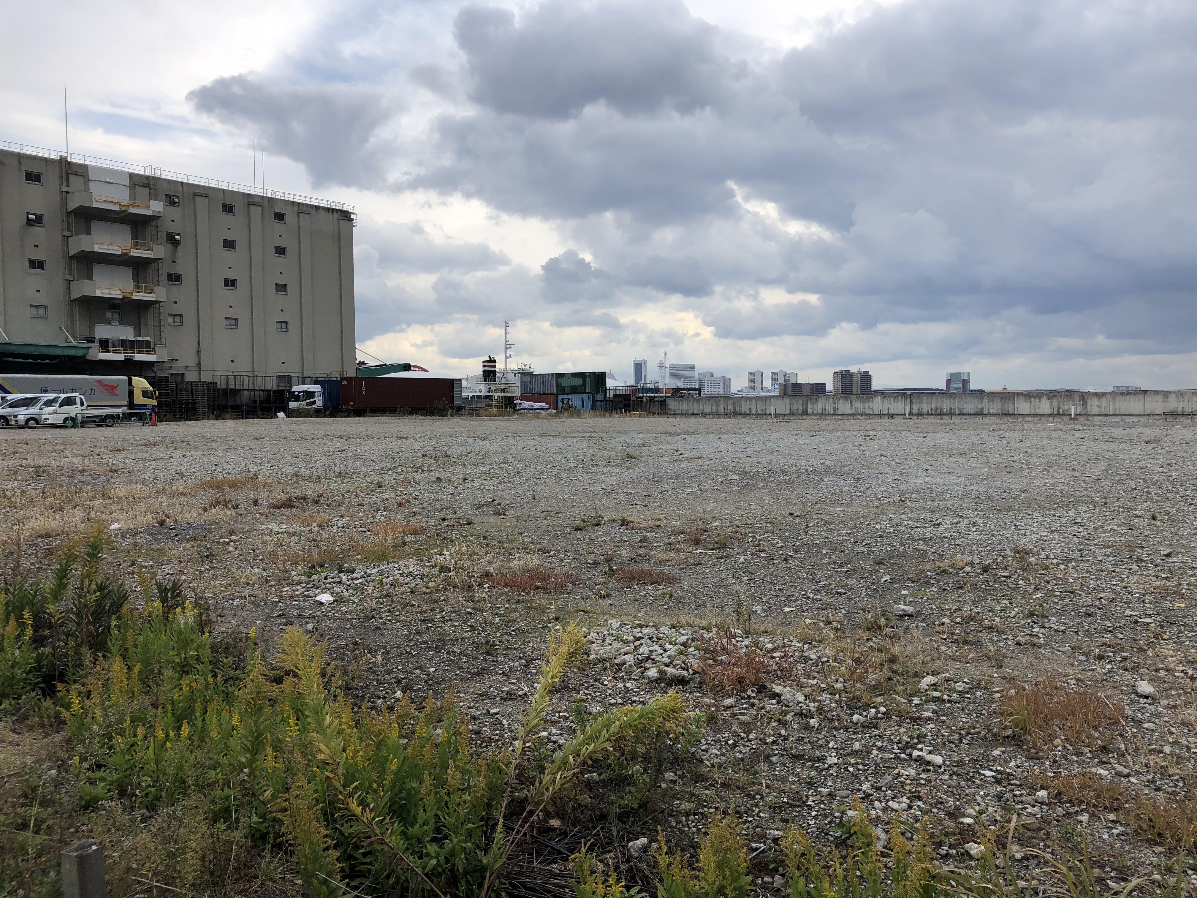 神戸・新港突堤西地区に円筒型水族館&ツインタワーが建設される予定、現地の様子を見てきた! #新港第一突堤 #神戸観光 #近代建築
