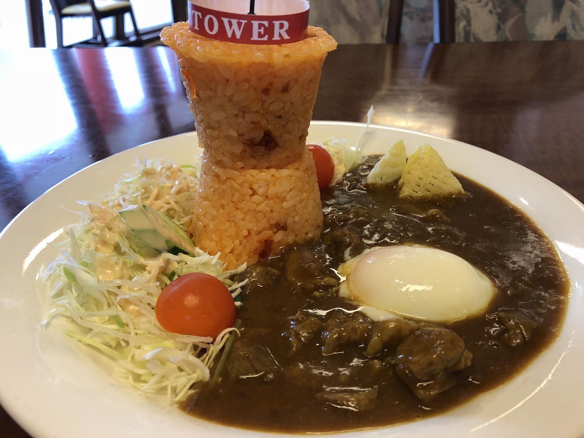 「神戸ポートタワー」に登り、名物の「ポートタワーカレー」を食べてみた! #神戸観光 #ポートタワー #メリケンパーク