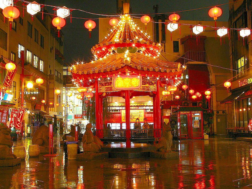 【※写真追加あり】神戸開港150年記念「#南京町ランターンフェア 」12月7日~25日まで開催中! #神戸南京町