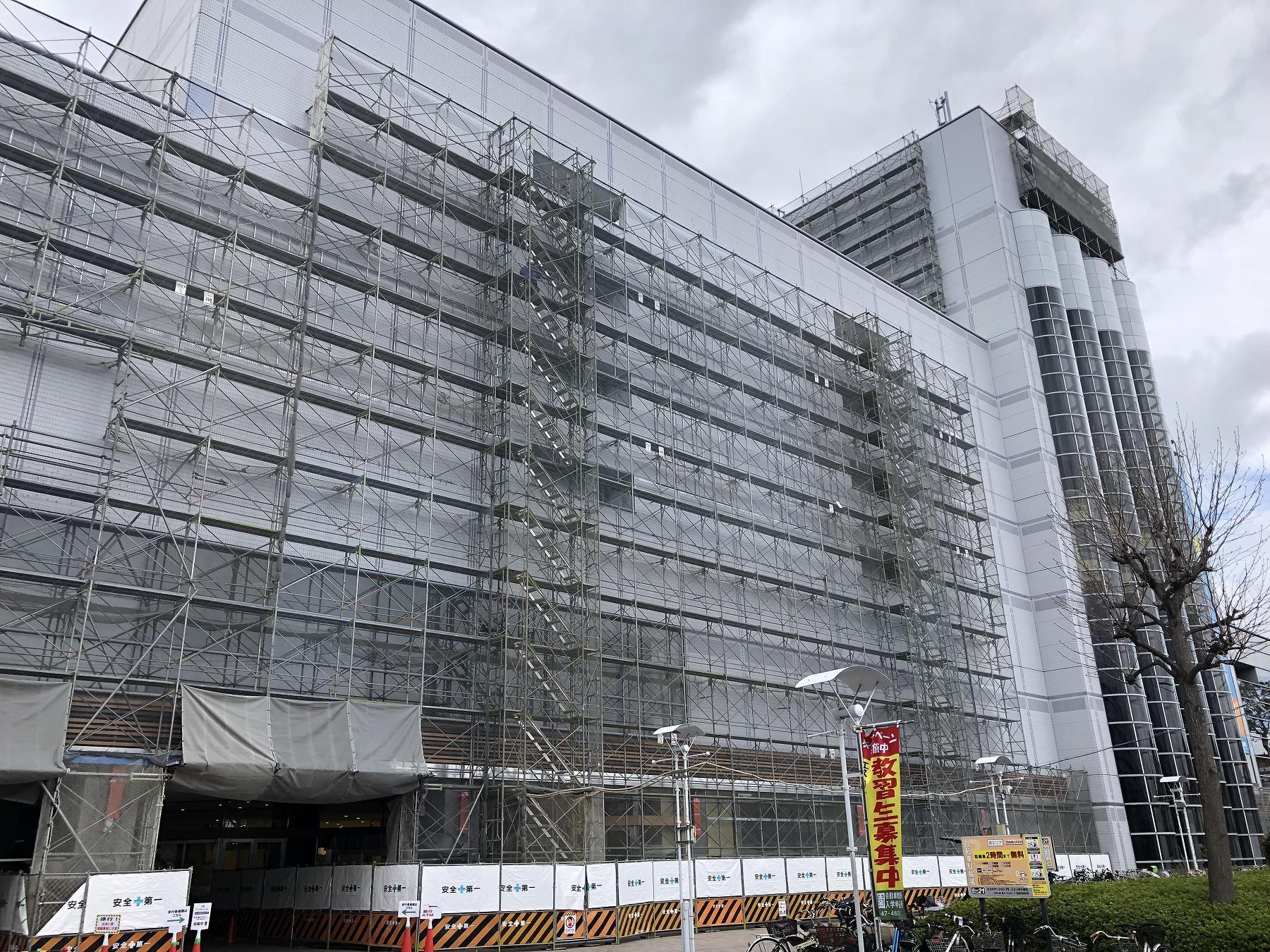 西宮の「コロワ甲子園」が2018年4月26日(木)グランドオープン!3月現在の様子がこちら #コロワ甲子園 #新規オープン #阪神甲子園 #Corowa