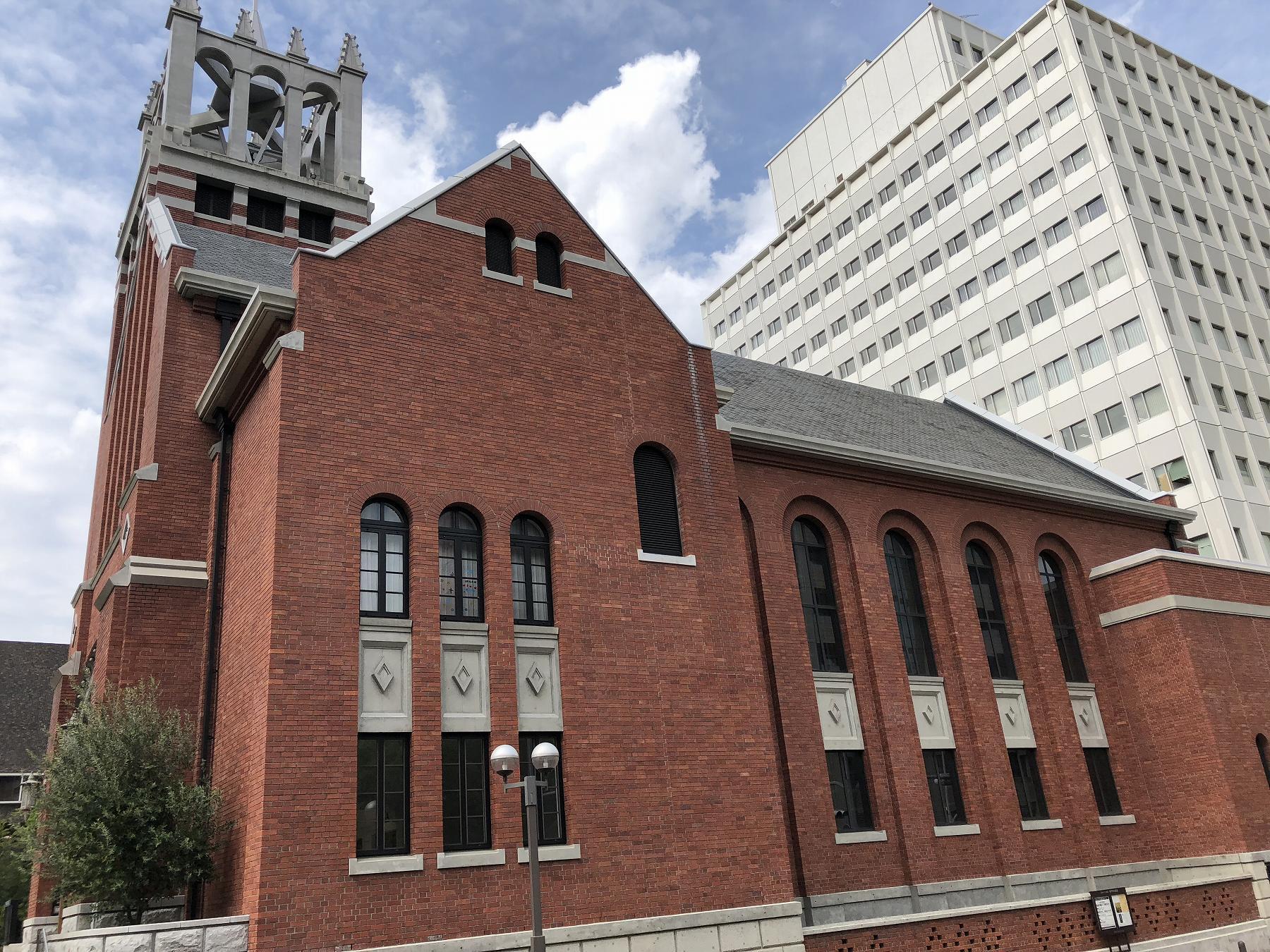 美しい近代建築の建物をご紹介「神戸栄光教会」&「神戸朝日ビル」 #近代建築 #産業遺産 #神戸観光 #渡邊節