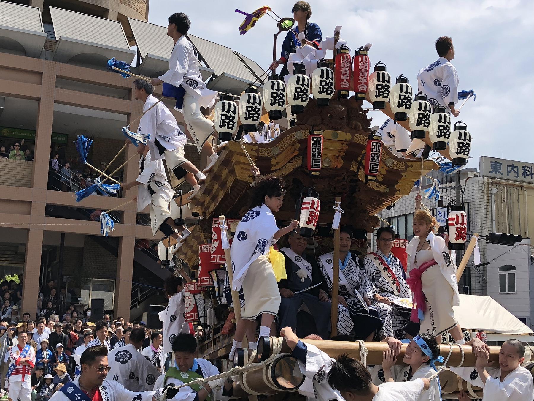 「第31回本山だんじりパレード」が5/4に開催!華やかな10基のだんじりを観覧してきた!【※だんじり写真あり】#本山だんじりパレード #東灘だんじり