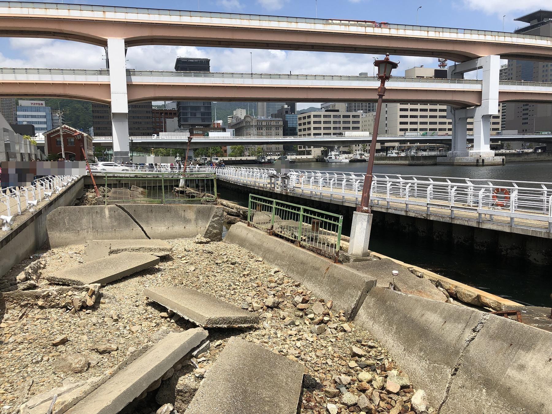 神戸メリケンパークにある「神戸港震災メモリアルパーク」を見学したよ #阪神淡路大震災 #神戸メリケンパーク #防災学習
