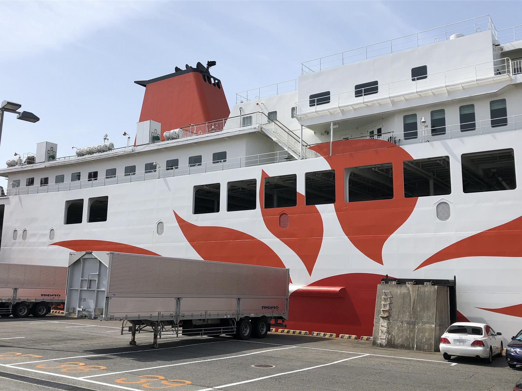 神戸・六甲アイランドにある「フェリーターミナル」を見学してきた! #さんふらわあ #阪九フェリー #六甲アイランド