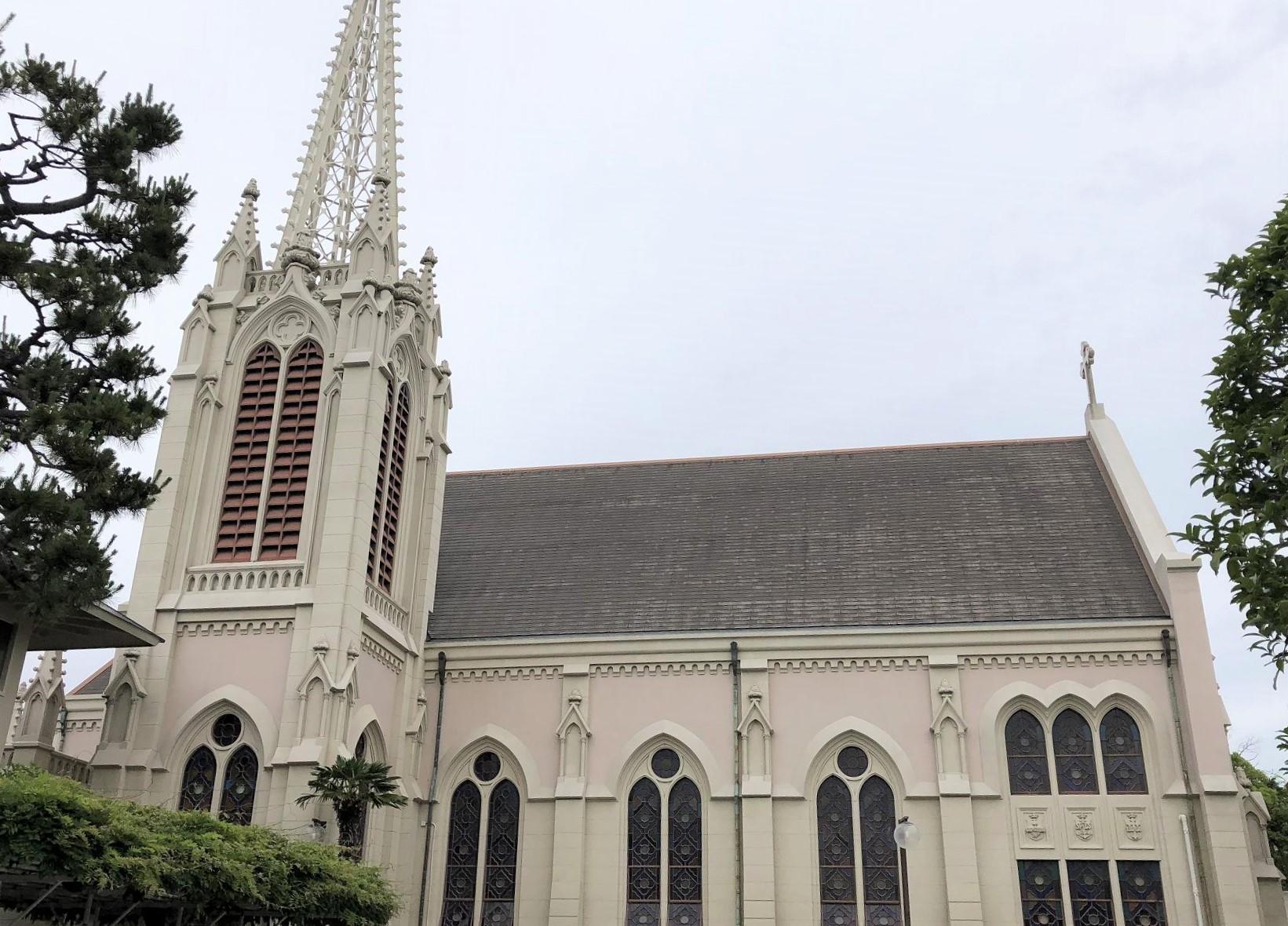 近代建築で有名な「カトリック夙川教会」を見学したよ! #カトリック夙川教会 #近代建築 #遠藤周作 #教会建築