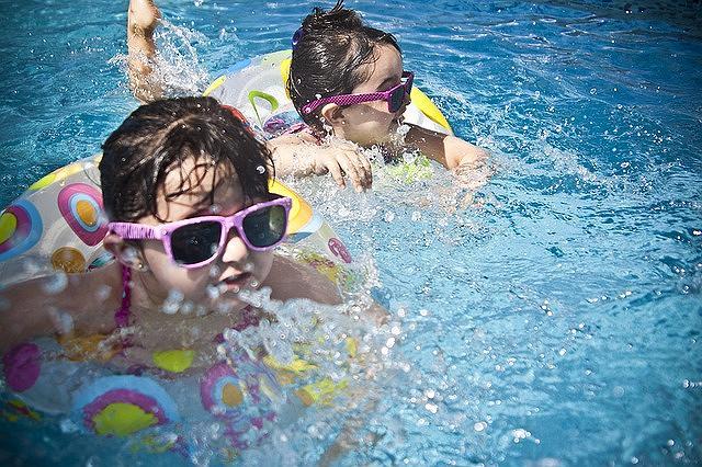 神戸・六甲アイランドにある「ウォーターパーク デカパトス」が7月14日(土)からオープンを迎えるよ! #デカパトス #六甲アイランド #プール