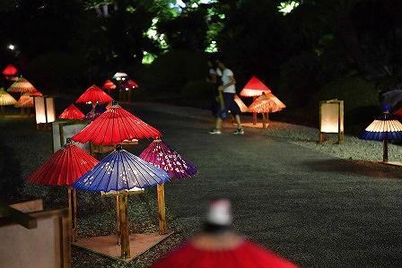 相楽園で「にわのあかり2018 光と闇をあいたのしむ」イベントが8月25日と26日に開催されるよ! #相楽園 #にわのあかり2018 #夏イベント #神戸観光 #ライトアップイベント