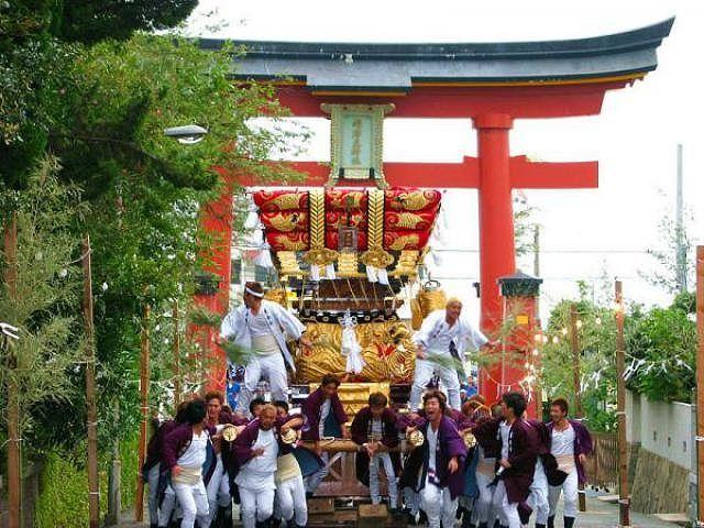 垂水区の海神社で10月10日~12日に「秋祭り」が開催されるよ! #海神社 #垂水区 #秋祭り #神輿
