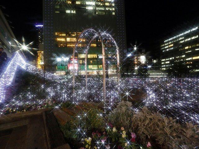 三ノ宮に光の回廊「KOBE LIGHT MESSAGE in2018~ECO ANGEL~」の開催 11月26日~12月25日まで #イルミネーション #三宮 #神戸観光 #JR三ノ宮駅