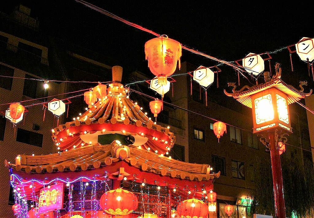 美しいイルミネーション「南京町ランターンフェア」の開催!神戸・南京町で12月6日~25日まで #南京町ランターンフェア #神戸南京町 #神戸観光 #イルミネーション
