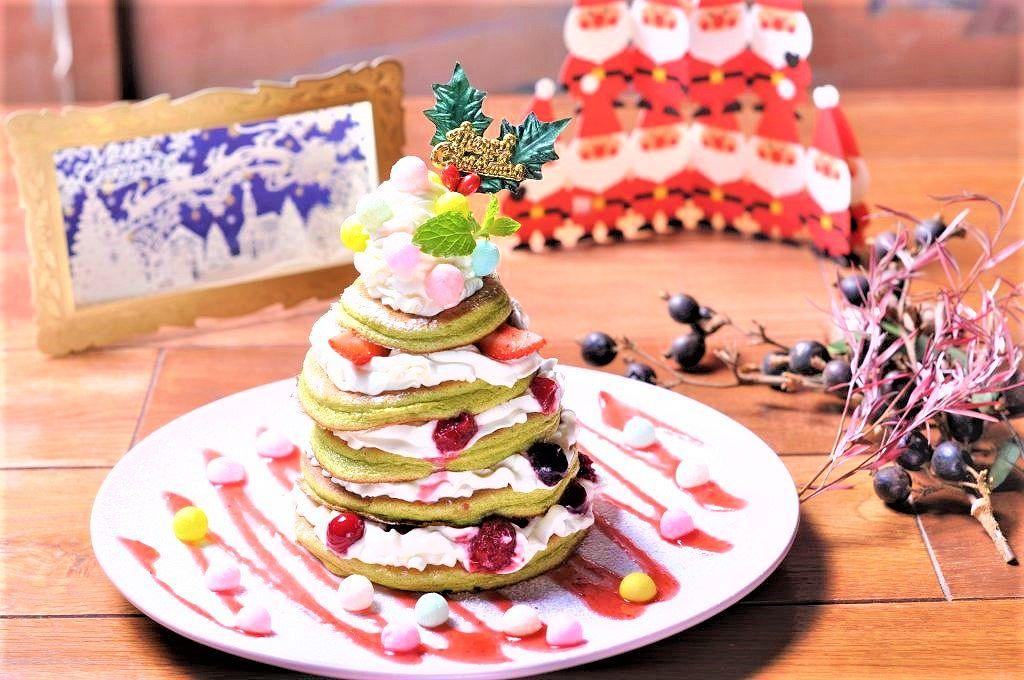 パンケーキで有名な「ベル・ヴィル」さんで、インスタ映えする「クリスマスパンケーキ2018」を販売中!25日まで。 #ベル・ヴィル阪急岡本駅店 #パンケーキ #ベルヴィル #阪急岡本 #インスタ映え #クリスマスパンケーキ2018