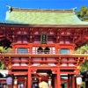 生田神社の拝殿で1月3日、神戸・清盛隊による「奉納演舞」が行われます #生田神社 #神