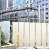 「こうべ花時計」跡地に、クーリングタワー(空調用冷却塔)が見えてきた!神戸市庁舎
