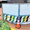 神戸阪急2階入口前の広場に「グランパティオ」が登場予定!ウッドデッキが広がる居心