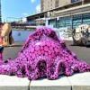 神戸・JR三ノ宮駅前に「六甲ミーツ・アート芸術散歩2021」の特設アートが登場!8月27