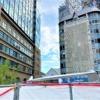 阪急神戸三宮駅北側の「さんきたアモーレ広場」(通称:パイ山、デコボコ広場)10月2